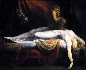 Folk horror demons in 1781? The Nightmare by Henry Fuseli