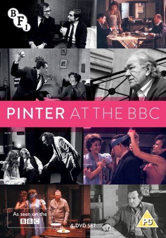 Pinter at the BBC DVD packshot