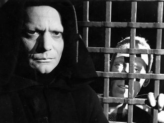 Death and the knight in The Seventh Seal