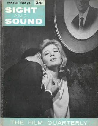 The cover of Winter 61/62 Sight & Sound